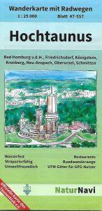 Wander- + Radkarte Hochtaunus